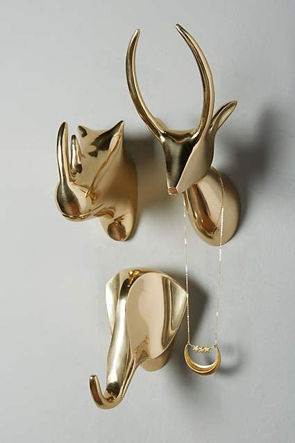 Gleaming Safari Bust - anthropologie.com
