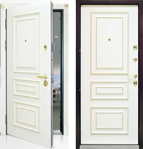 входные двери (стальные двери, металлические двери) DOORS007: дверь Профессор Профессор 3+ 02 SS
