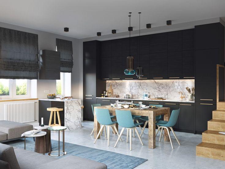 Гостиная-кухня - Галерея 3ddd.ru