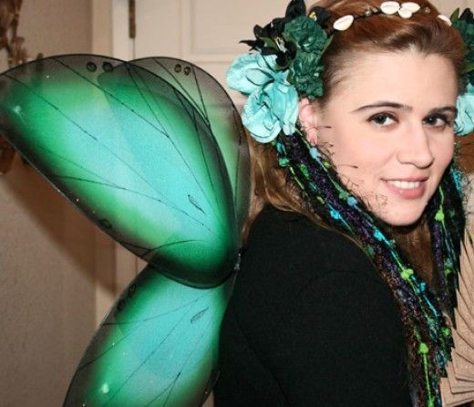 10 best fairies images on pinterest fairy costumes halloween do it yourself fairy costume solutioingenieria Images