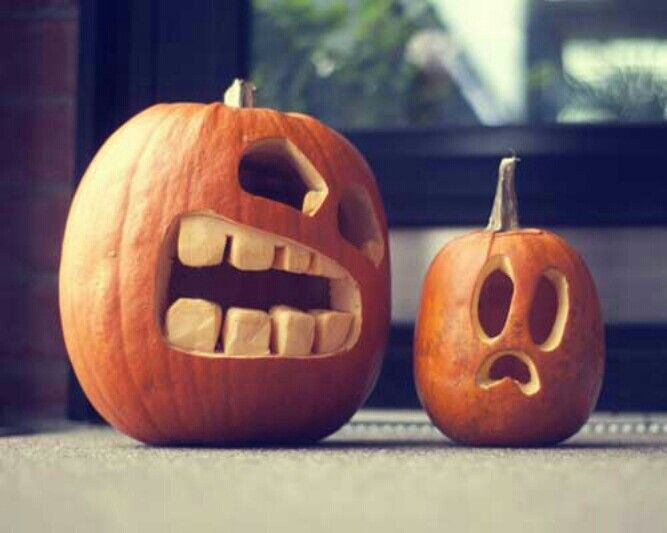 Halloween pumpkin carving ideas.  #outdoor #halloween #jack-o-lantern