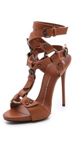 giuseppe zanotti buckle heels on wheels