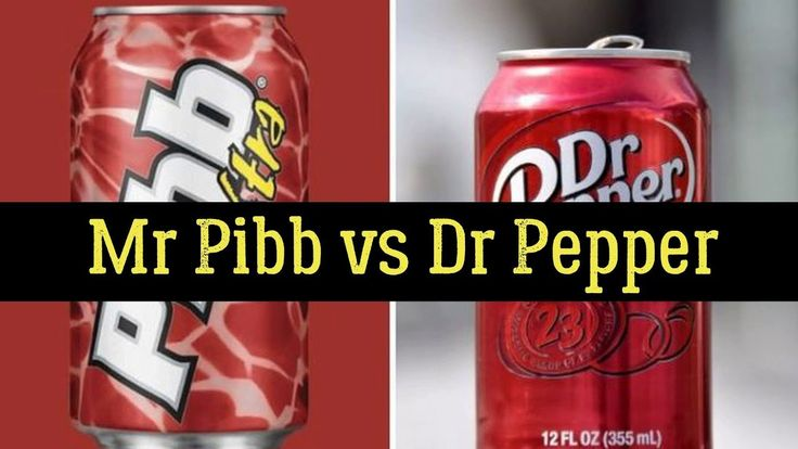 Mr Pibb vs Dr Pepper – History, Nutrition Facts, Side Effects