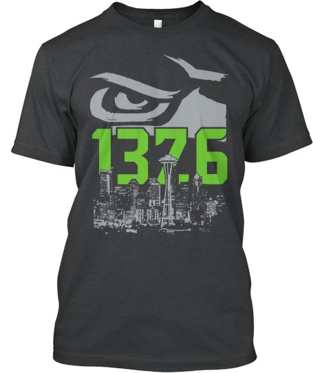 LIMITED ~ Hawk City Record Breaker!   Teespring  Broke record for Loudest Stadium-Like a 1-2 point earthquake! 12/02/2013