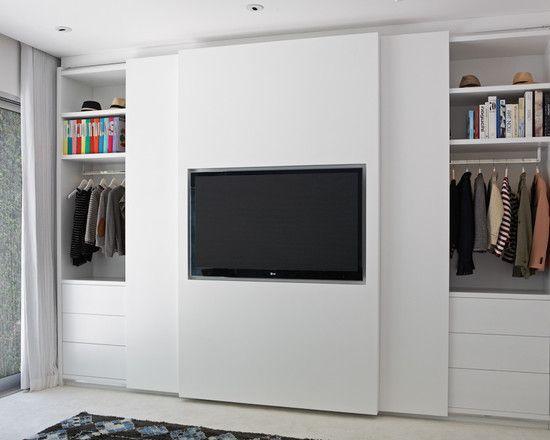 die besten 10+ closet con tv ideen auf pinterest | tv-schrank