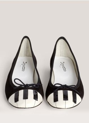 Repetto - Piano velvet ballerina flats(not worth HK$2600 but pin-worthy)