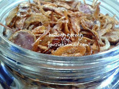 BAWANG GORENG( crispy fried onions)- not in English