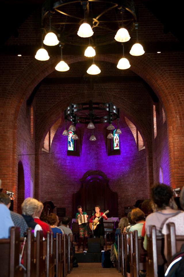 The beautiful chapel venue.