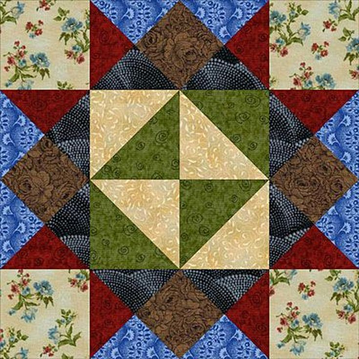 playing checkers quilt pattern - 735×735
