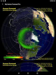 My Aurora Forecast - Aurora Alerts Northern Lights- screenshot thumbnail