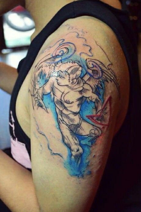 Watercolortattoo tattoo by khang k tattoo hcmc for Vietnam tattoo ideas