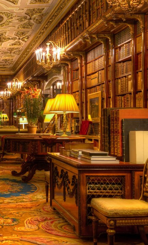 Chatsworth Library, England