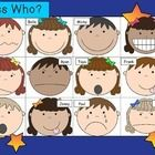 AKA Guess Who?  This is a simple oral language game you can play in your Jr primary or elementary class.  Open the main grid on your whiteboard (or...