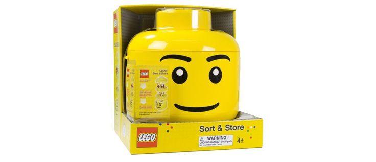 LEGO Sort and Store Storage Bin Head