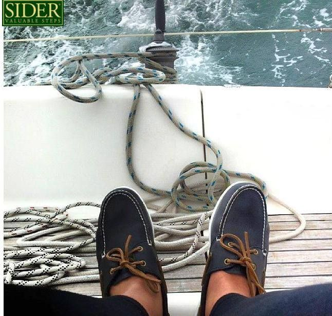Let the summer begin...!!!! Don't forget your classy boat shoes! Ideal company for a unique summer Sider Valuable Steps