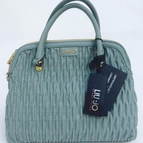 handbags-borsa-Liu-Jo-shopping-2-scomparti-eco-pelle-lavorata-Aquamarine-Sto #handbags #bestprice #borse #donna #superprezzi #saldi #sale #borsescontate #liujo