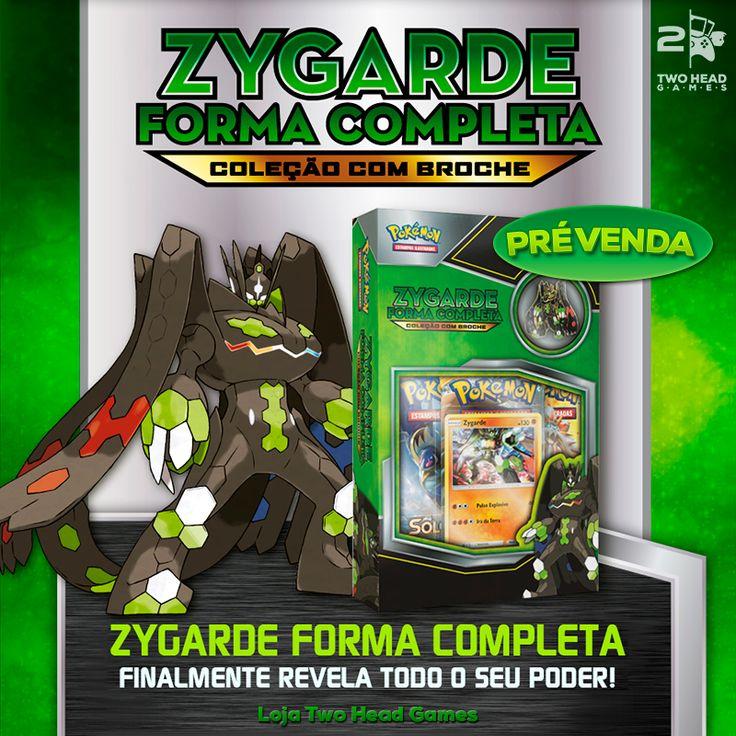 Zygarde Forma Completa. Finalmente revela todo o seu poder! <3 Mini Box Zygarde  Melhor Loja de Card Games para comprar - Two Head Games