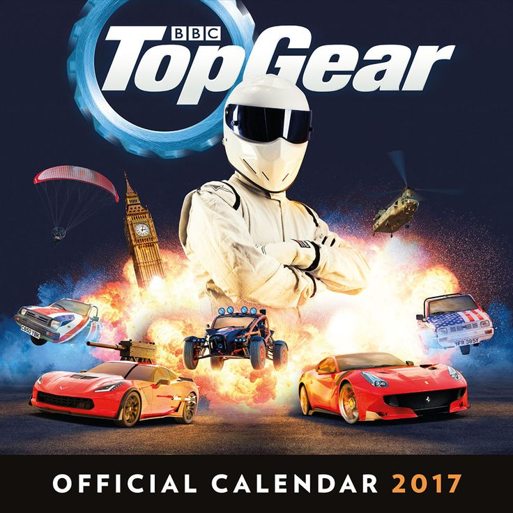 New Official Top Gear 2017 Calendar available with FREE UK P&P (plus worldwide delivery available) at http://bit.ly/TVCals2017