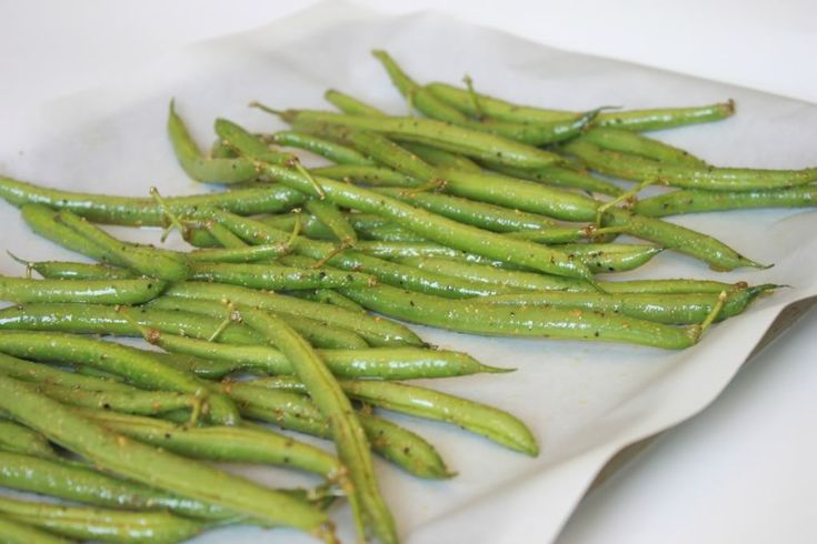 Delighted Momma: Crispy Green Bean Baked