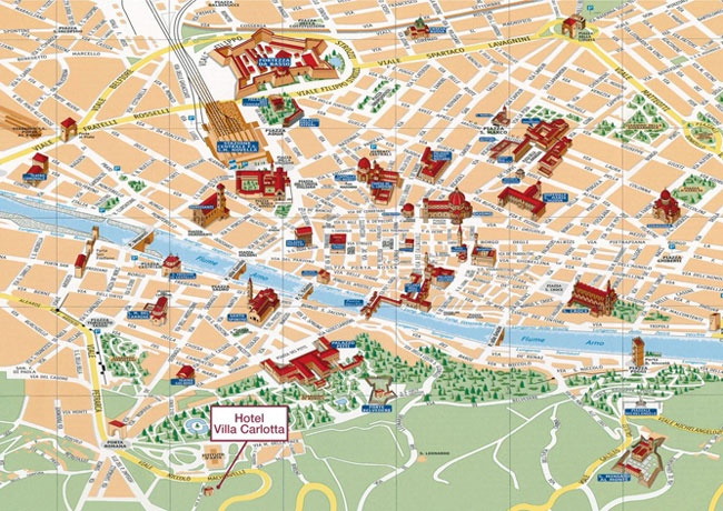 9 best Florence Maps images on Pinterest Florence italy Maps and