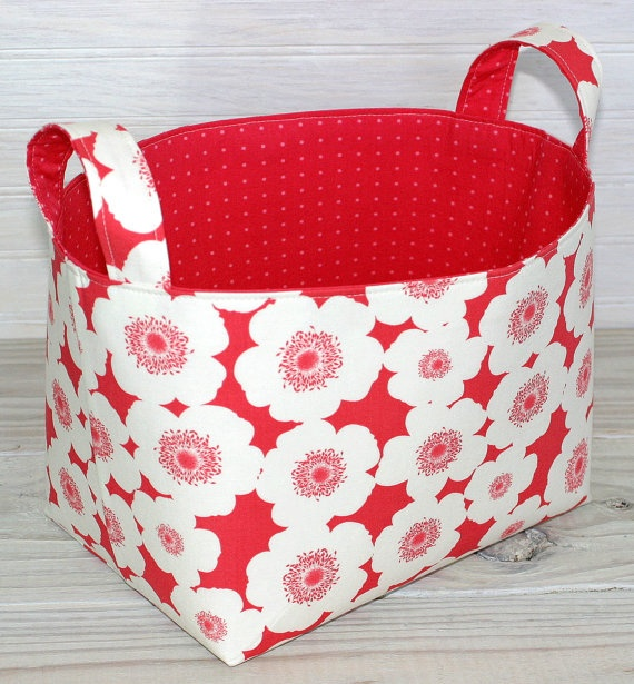 fun fabric basket