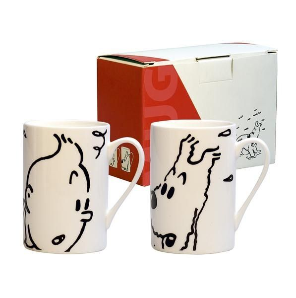Love our 'his and her' mugs.  I'm Tintin!