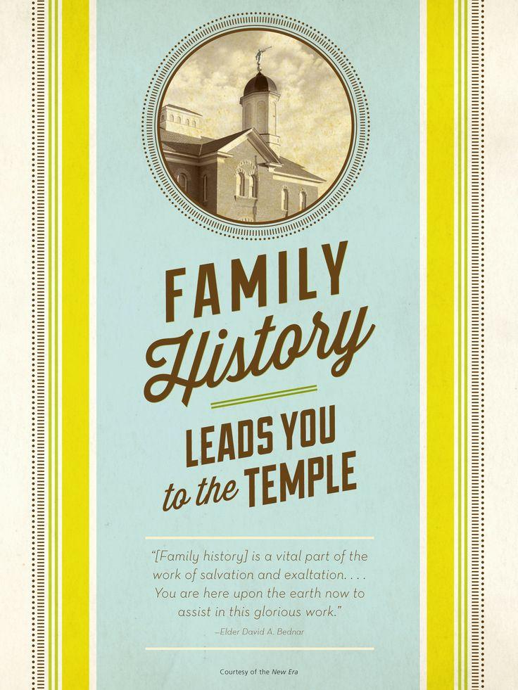 How do i learn to write a family history