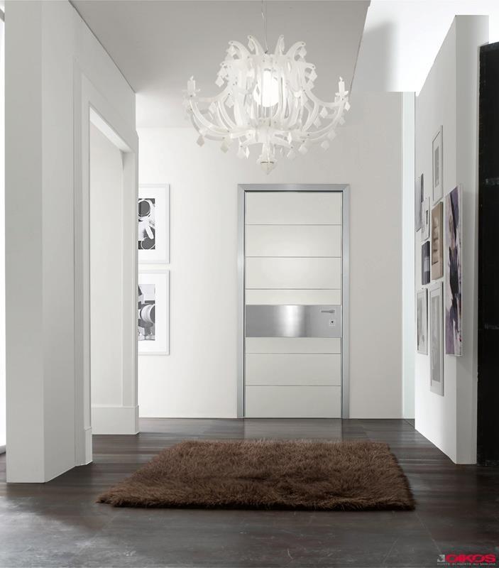 iDOOR laqué blanc    http://www.designity.fr/idoor-9/    #door  #securitydoor