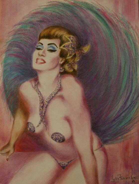Buy Burlesque Dancer, Painting by Leliaincolor on Artfinder. Discover thousands of other original paintings, prints, sculptures and photography from independent artists.