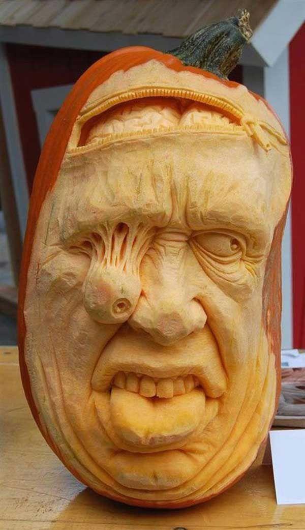 Hoje é dia de Halloween. Nós reunimos algumas das melhores esculturas de abóbora que você já viu.