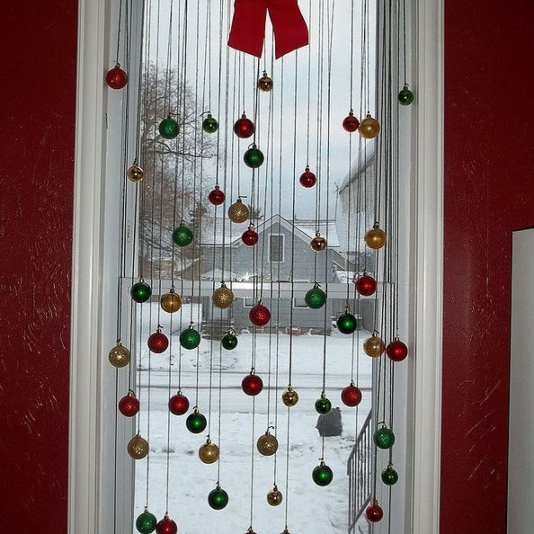 40 Awesome window christmas decorations diy images