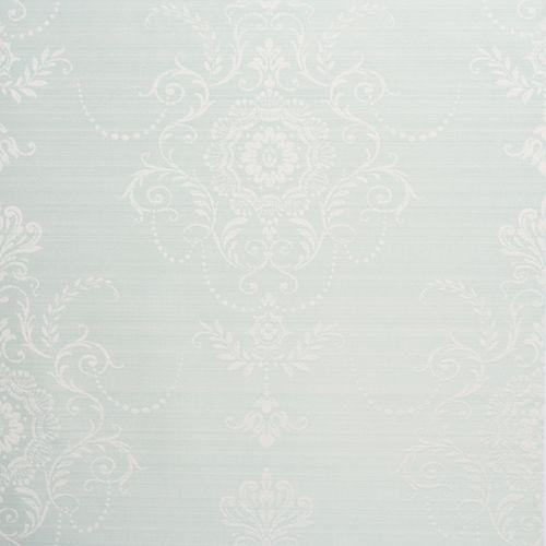 Embellish Lace Wallpaper, Blue