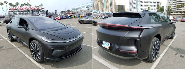 Faraday Future shows a more badass-looking all-electric FF91 beta prototype #electriccars #EV #EVs #green #cars #Deals #cleanair #ElectricCar