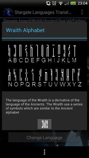 Wraith Alphabet                                                                                                                                                                                 More