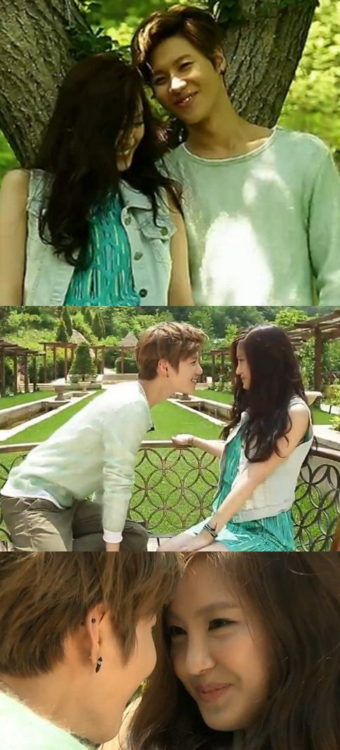 #TaEun Taemin & Naeun on We Got Married, can't they last forever