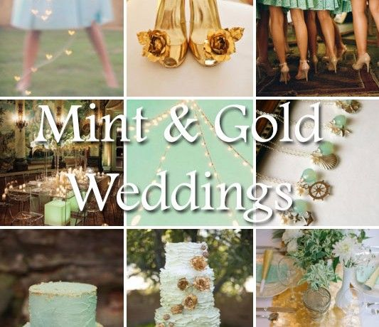 Mint Wedding Ideas: 17 Best Images About Mint And Gold Wedding On Pinterest