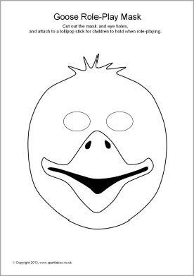 goosey lucy coloring pages   Masks on Pinterest