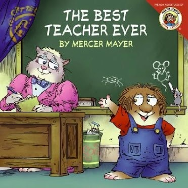 """Today is National Teacher Appreciation Day! Here are a couple of read aloud suggestions about our wonderful teachers:  """"The Best Teacher Ever"""" by Mercer Mayer """"My Teacher's My Friend"""" by P. K. Hallinan"""