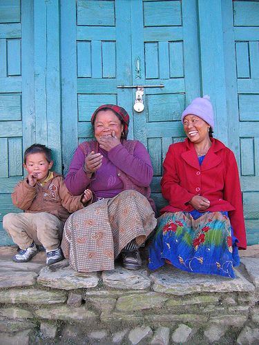 Happy People of Nepal!