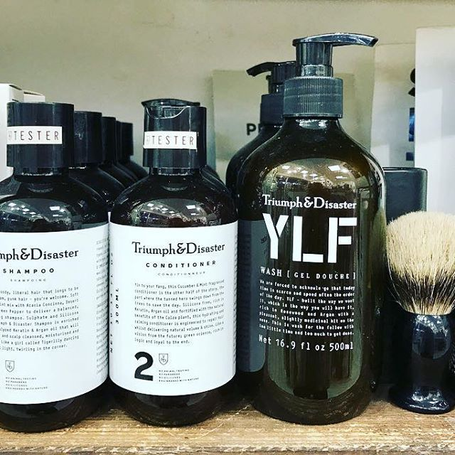 Day 7- The perfect gift for the man in your life. We have 20% off @triumphanddisaster men's hair and body products 🎁