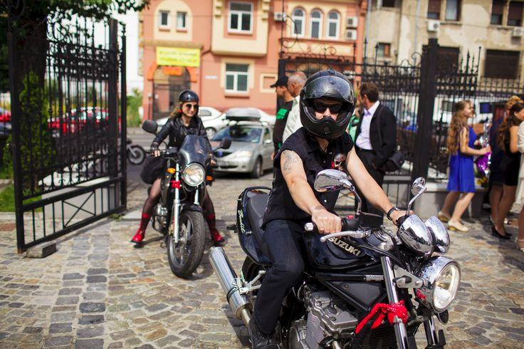 Cununia Civila pe motociclete.