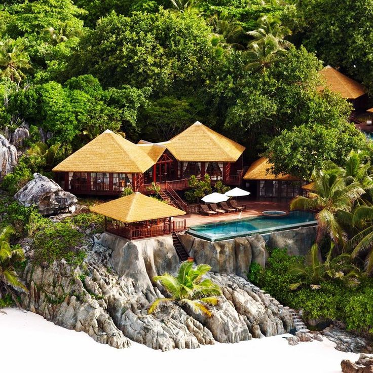 Fregate Island Private Fregate Island, Seychelles All-Inclusive Resorts Beach Beachfront Hotels Island Jungle Luxury Pool Romantic tree rock ecosystem Nature Resort Garden backyard cottage surrounded