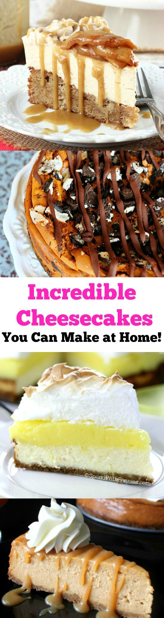 13 Masterpiece Cheesecake Recipes You Can Make at Home! Thanksgiving Desserts Christmas Desserts
