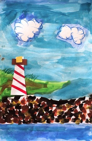 """From exhibit """"4 - Seascapes with Lighthouses"""" by Robert1741"""