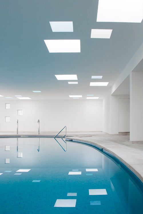 Hotel Pool and Spa by A2arquitectos - Design Milk