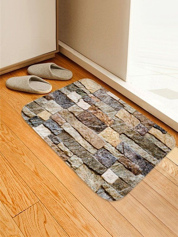 Wooden Print Design Floor Mat Wood Floor Pattern Rugs On Carpet