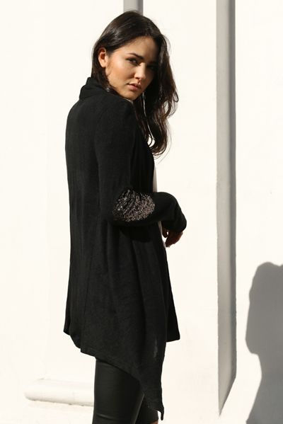 not your girlfriend cardi by Madison Square: black