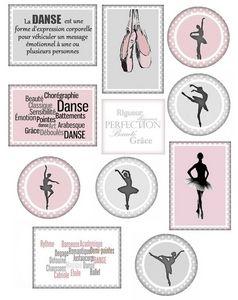 """Etiquettes à gogo: Étiquettes """"Danse classique"""""""