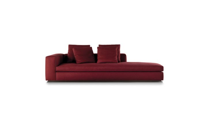 Minotti Leonard Open- End Sofa 269 x 105 x H86 cm