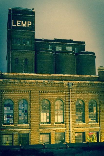The Lemp Brewery....my gr gpa & his family hauled for the Lemp Brewery - on the Mississippi River, from Alton IL to St Louis.